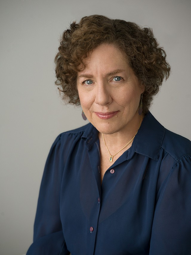 Portrait of author Elaine Weiss by Nina Subin.