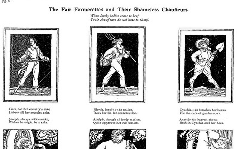 A Fine Propoganda: The Fair Farmerette and Her Publicity Machine