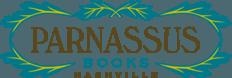 Parnassus Books, Nashville logo.