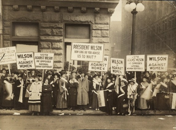 Wilson's War NWP Pickets 1916