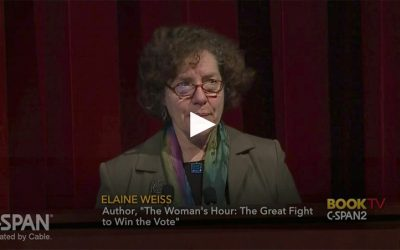 BookTV on C-Span – Elaine's Talk at the National Archives