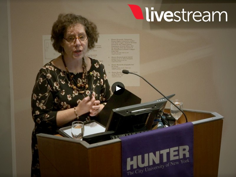 Livestream Roosevelt House – Elaine F. Weiss, The Woman's Hour: The Great Fight to Win the Vote