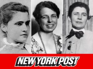 New York Post feature image for Eleanor Roosevelt opposed women getting the right to vote by Mary Kaye Linge.