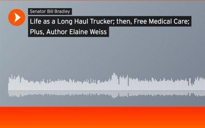 American Voices with Senator Bill Bradley, SIRIUS-XM Radio