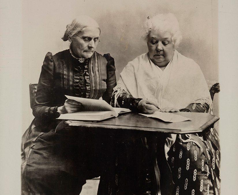 Susan B. Anthony and Elizabeth Cady Stanton