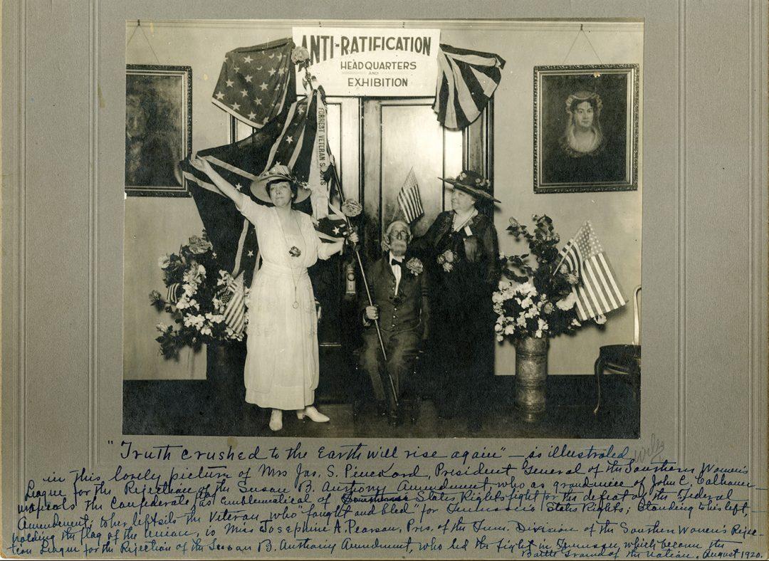 Anti-suffrage Headquarters, Nashville, TN