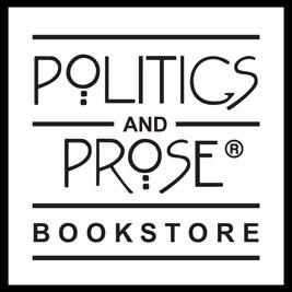 Politics and Prose Bookstore logo.