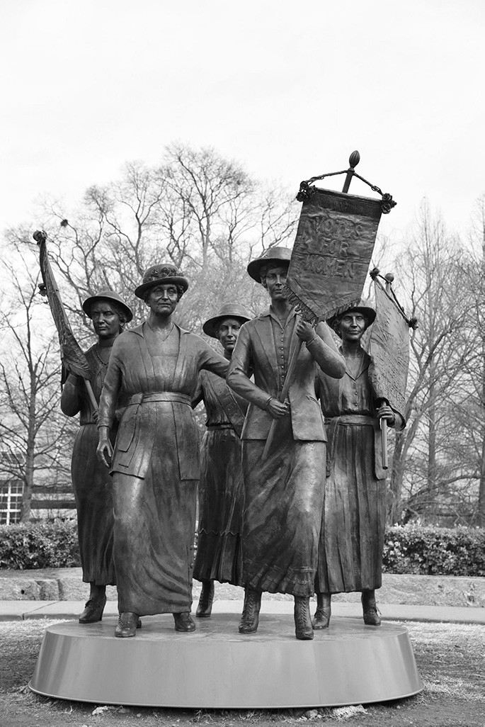 Tennessee Suffrage Statue