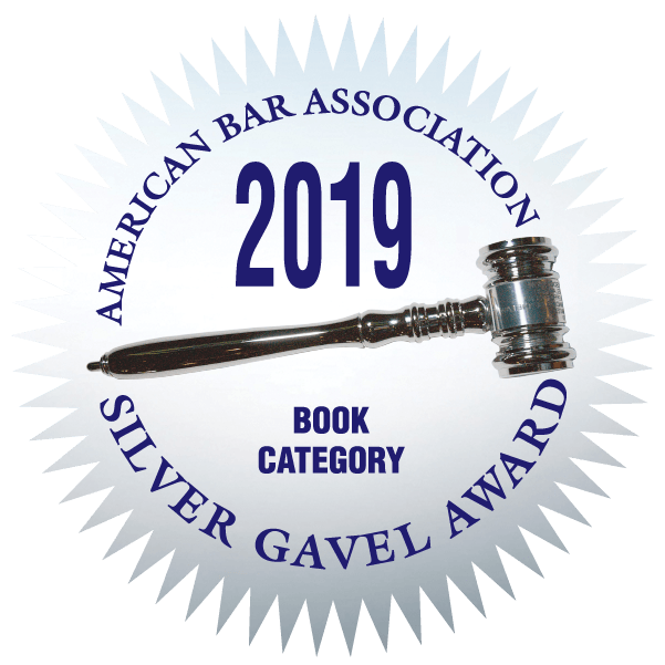 ABA 2019 Silver Gavel Award badge.