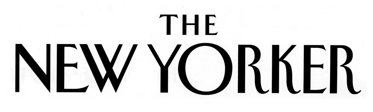 The New Yorker logo.