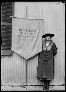 A century after suffrage, it's worth considering why women had to fight so hard, and who they were fighting against. Courtesy Library of Congress, Prints and Photographs Division, photograph by Harris & Ewing