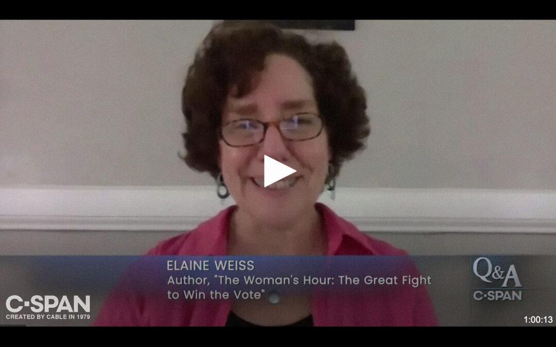 C-SPAN American History Q&A Program on Ratification of 19th Amendment