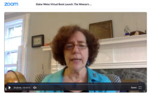 Elaine Weiss virtual book launch for The Woman's Hour, Young Reader's edition via Zoom.