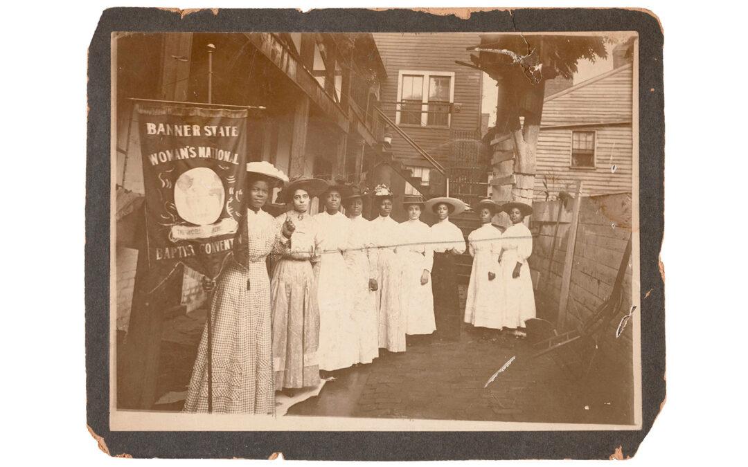 NYT Suffrage Roundtable hero image.