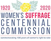 Womens Suffrage Centennial Commission Logo.
